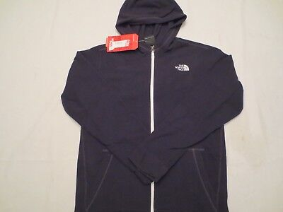 The North Face Boys Glacier Full Zip Hoodie Jacket Tnf Black Youth Size Xl Nwt