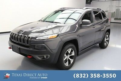 Jeep Cherokee Trailhawk Texas Direct Auto 2014 Trailhawk Used 2.4L I4 16V Automatic 4WD SUV Premium