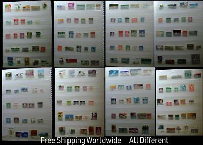 Interesting Stamp Collection From Canada All Different Free Shipping