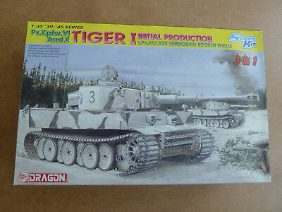 Dragon Tiger I Initial Production 3 in1 1:35