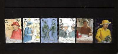 (H908)  Isle Of Man 2001  Daily Life Of The Queen   Mnh Set