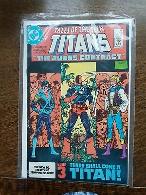 Tales Of The Teen Titans #44 July 1984 First Nightwing Appearance