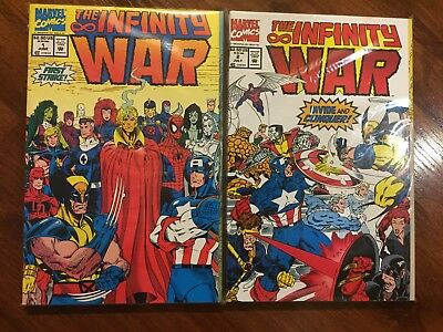 Infinity War / Silver Surfer comic lot, 12 books, all in near mint+ condition