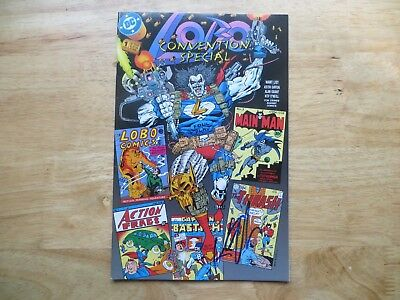 1993 Vintage Lobo Convention Special # 1 Signed Creator Keith Giffen,with Poa
