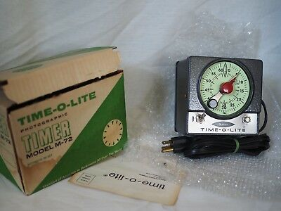 Vintage Time O Lite Timer in original box