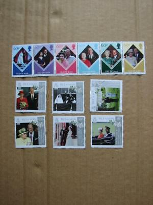(G199) Isle Of Man  Royalty Selection Mnh Collect Or Postage