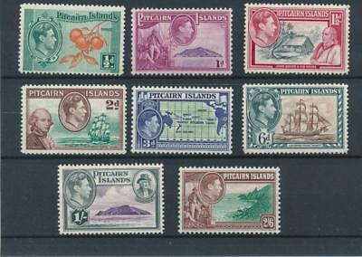 [121944] Pitcairn Is. 1940 good set of stamps very fine MNH $30