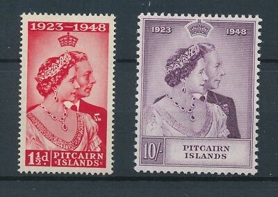 [121945] Pitcairn Is. 1949 good set of stamps very fine MNH $85