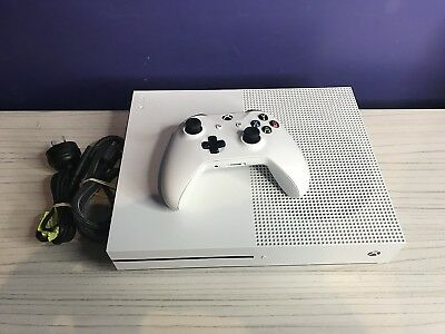Microsoft Xbox One S Console 500Gb Whte Working