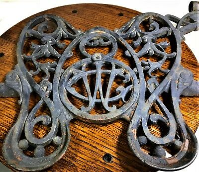 Vintage Sewing Machine WILLCOX & GIBBS Cast Iron Foot pedal Treadle part
