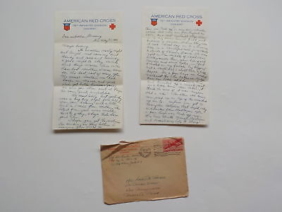 "WWII Letter 1945 General Patton Luxembourg 76th Infantry Division ""Onaway"" WW2"