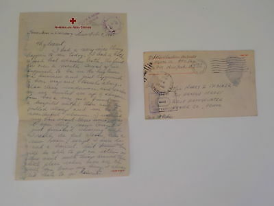 "WWII Letter 1945 V-Mail Mother Luxembourg 76th Infantry Division ""Onaway"" WW2"