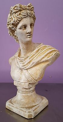 Greek Roman Apollo Sculpture Antique Finish