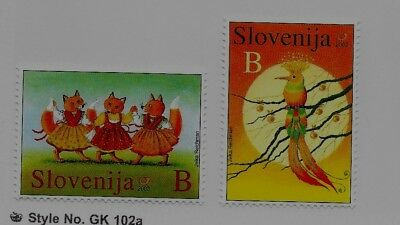 SLOVENIA Sc 519-20 NH issue of 2003 - FAIRY TALES