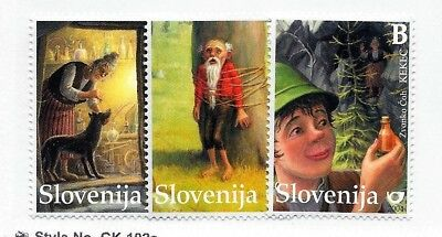 SLOVENIA Sc 553-55 NH issue of 2004 - FAIRY TALES