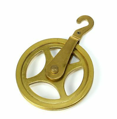 Brass Pulley For Clock Cable -1-7/8 Inch - Bg181