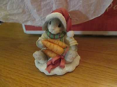 """Enesco My Blushing Bunnies 1996 """"Always Count Your Blessings"""""""