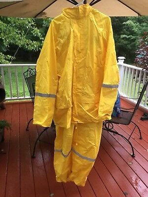 06c388d6a19 Master Gear 3 Piece Rain Suit Size XXL Great Used Condition