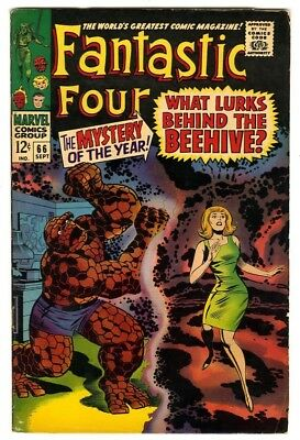 Fantastic Four #66 (1967) Fine New Marvel Silver Bronze Collection