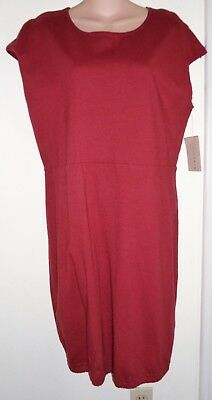 Nwt Bryn Walker Cotton Jersey Darby Tunic Sz M/l