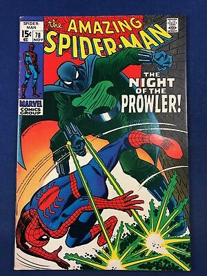 Amazing Spider-Man #78 (1969 Marvel) 1st appearance of The Prowler NO RESERVE