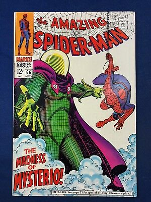 Amazing Spider-Man #66 (1968 Marvel) Mysterio appearance NO RESERVE