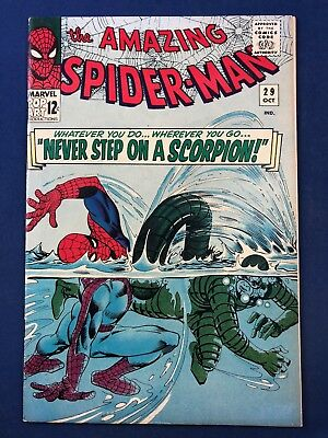 Amazing Spider-Man #29 (1965 Marvel) Scorpion appearance NO RESERVE