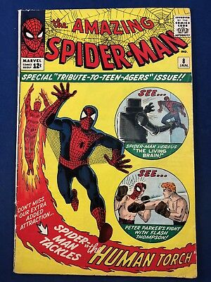 Amazing Spider-Man #8 (1964 Marvel) 1st appearance of the Living Brain