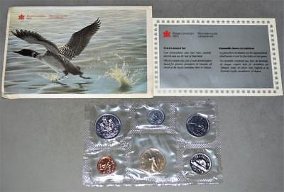 Canada 1991 Uncirculated Mint Set 6 Coins