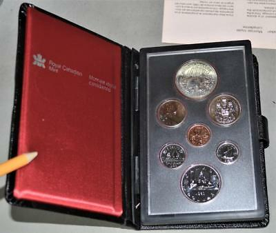 Canada 1980 Prestige Set - With Arctic Territories Centennial Silver Dollar