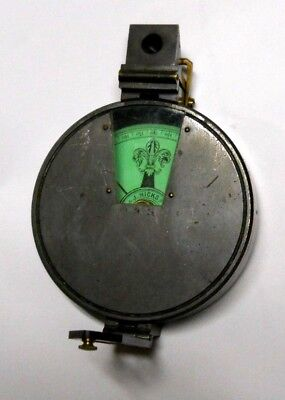 Vintage J Hicks 8 Hatton Garden London , Compass Clinometer