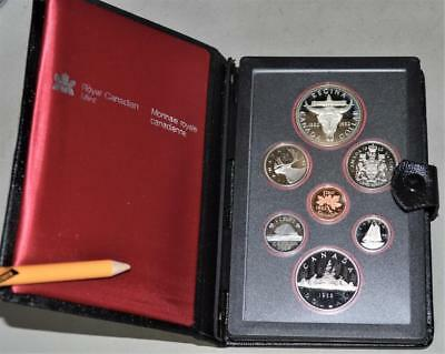 Canada 1982 Proof Set - With Regina Centennial Silver Dollar