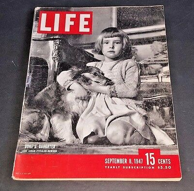 September 8, 1947 LIFE Magazine Old car ads 40s adds ad FREE SHIPPING Sept 9 10