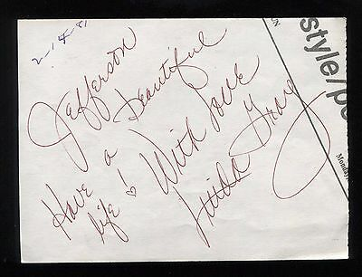 Autographs-original 1946 Peter Donald Vintage Original Signature Autograph Paper A199 Movies