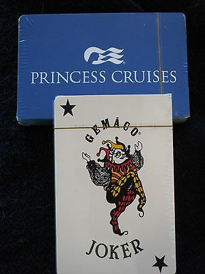 Princess Cruises BLUE NEW Deck of Playing Cards
