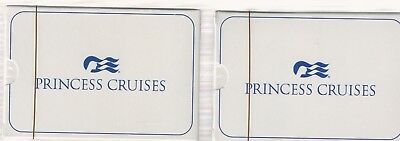 2 TWO Decks Princess Cruises NEW  of Playing Cards