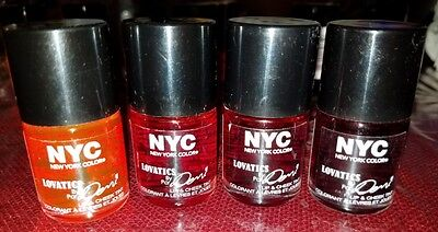 NYC - Lovatics by Demi - Lip and Cheek Stain Tint - Unsealed - CHOOSE ONE NEW
