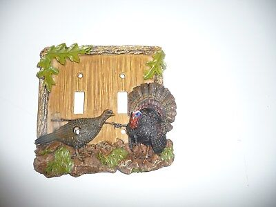 6 New Turkey Double Switch Plate Cover