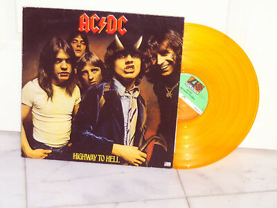 Ac/dc Lp Highway To Hell Farbiges Vinyl