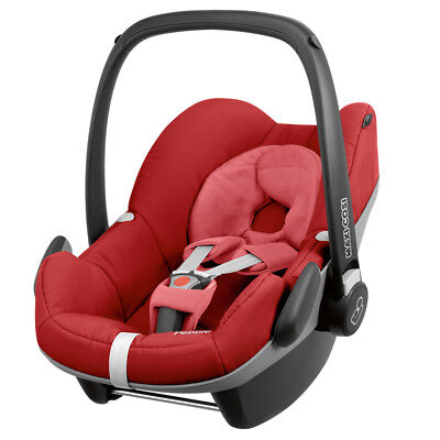 Maxi-Cosi Pebble baby car seat Grp0+ in Red Rumour B Graded  RRP£160