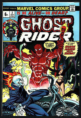 GHOST RIDER #2 vs SON OF SATAN WHITE PAGES VFN 8.0