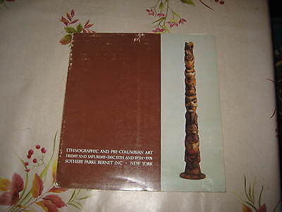 Sotheby's Catalogue African Oceanic Pre Columbian  American Indian Art Tribal