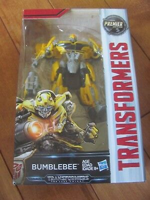 Transformers The Last Knight BUMBLEBEE Figure Premier Edition Deluxe Class NEW