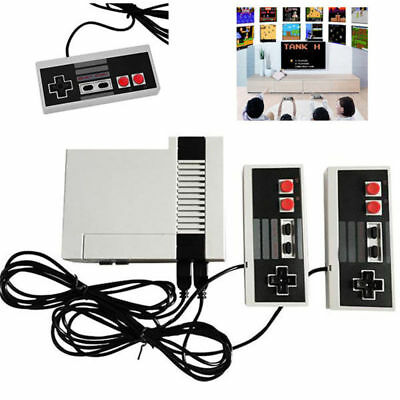 Mini Vintage Retro TV Game Console Classic 620 Games 2 Controllers Xmas Gifts US