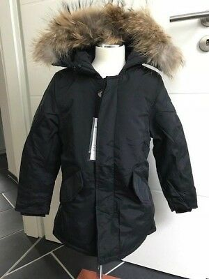 new product bb9ce 2958d JUNGS HERBST WINTER Parka ★ mit Fell Kapuze ★ Jacke ★ Gr 122-164 ★  Kinderjacke