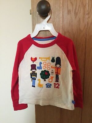 Little Bird Clothes Jools 9-12 Mths Tshirt Top Long Sleeved