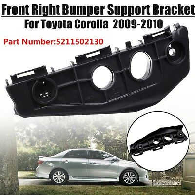 Front Right Bumper Spacer Bracket Black For Toyota Corolla 2009-2010 #5211502130
