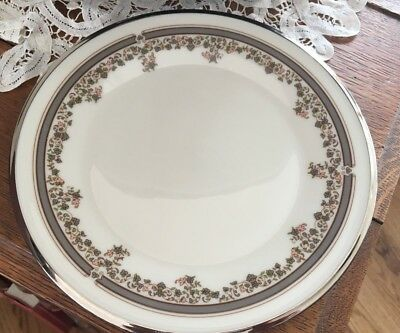 """Lenox China Lace Point 8"""" Salad or Luncheon Plate"""