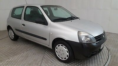 2008 Renault Clio Campus 8V Silver 1.1 Petrol 5 Speed Manual Hatchback
