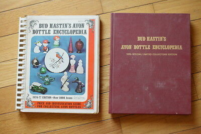 Bud Hastin's Avon Bottle Encyclopedia 1976-1977 Special Signed Collectors Ed.